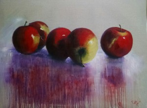 """""""Apple reflections"""" $580"""