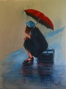 Rainy Day - Kylievantol paintings