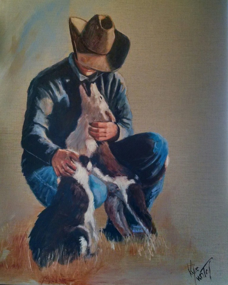 Jackeroo painting for sale