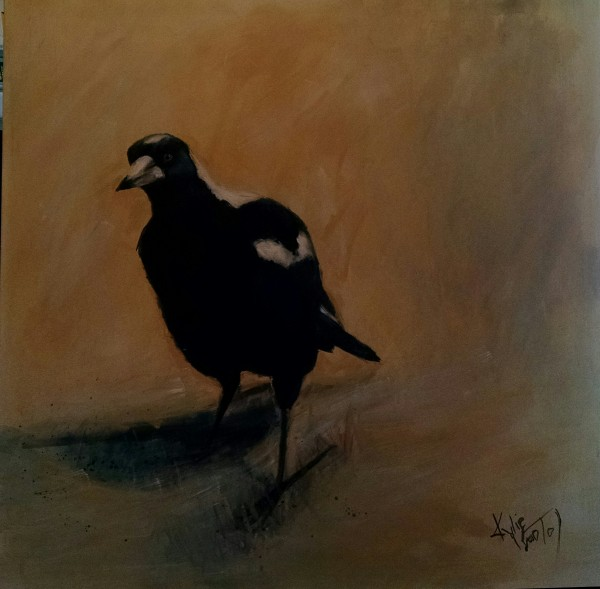 Magpie painting for sale
